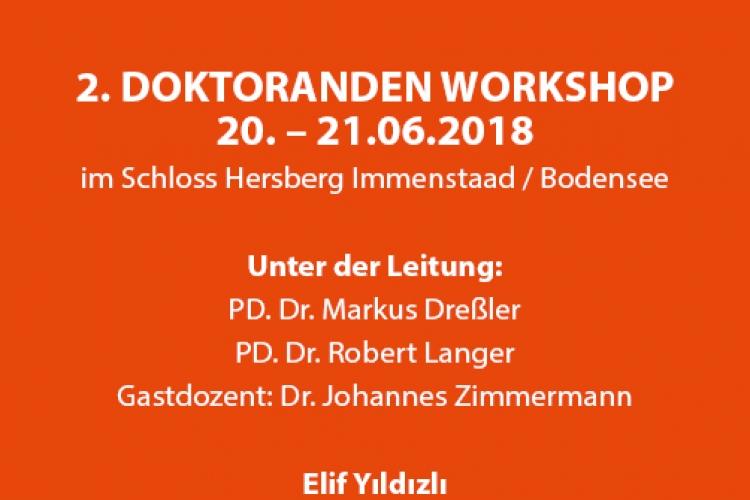 "II. Doktorandenworkshop ""Alevi-Studies"" am Bodensee (20.-21.06.2018)"